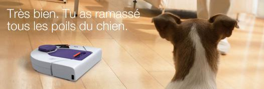 aspirateur robot special animaux