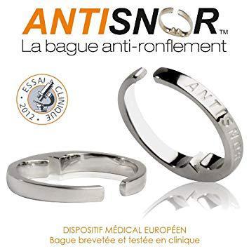 bague anti ronflement antisnor