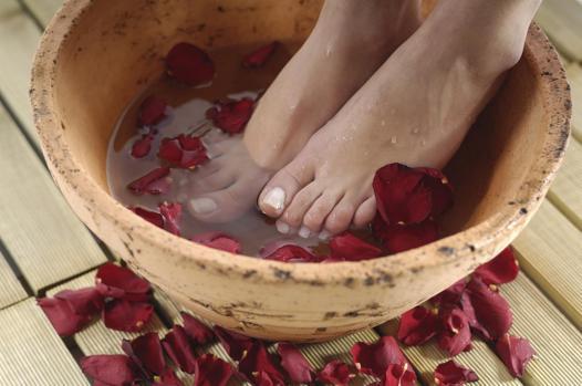 bain pied maison