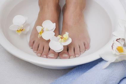 bain pieds