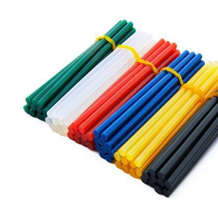 baton de colle couleur pour pistolet