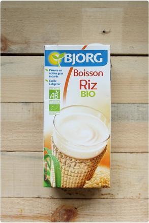 bienfaits lait riz