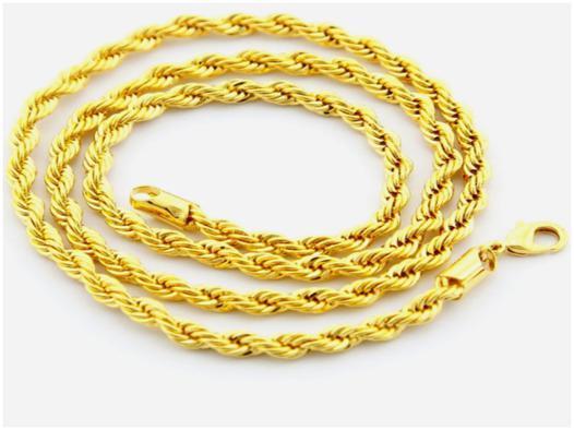 bijoux or 24 carats