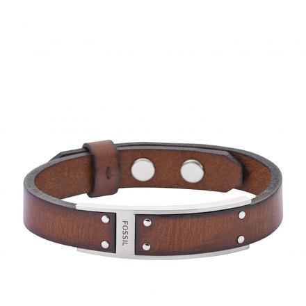 bracelet fossil cuir