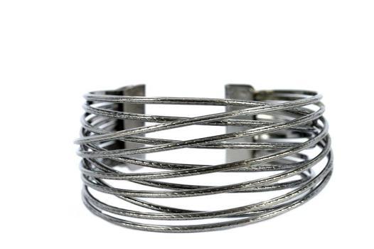 bracelet manchette argent pas cher