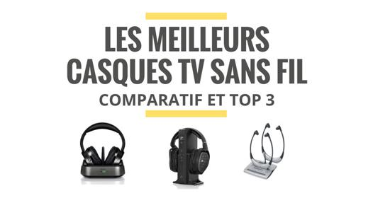 casque audio television sans fil comparatif
