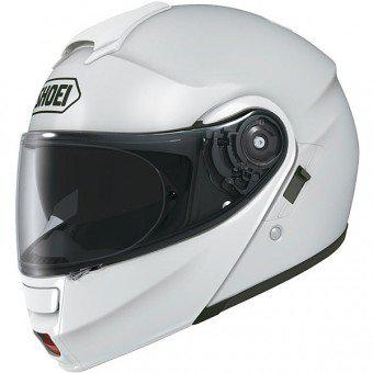 casque blanc moto