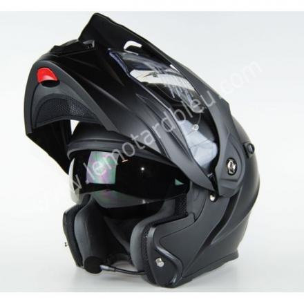 casque moto bluetooth modulable