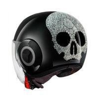 casque moto jet femme