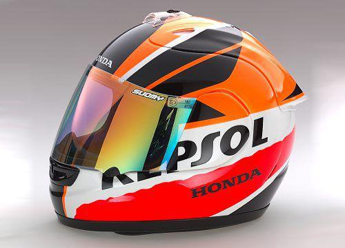 casque moto repsol