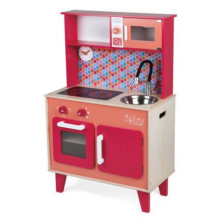 cuisine en bois jouet janod