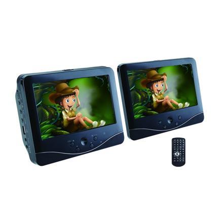 double ecran lecteur dvd voiture