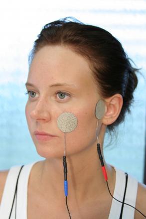 electrostimulation du visage