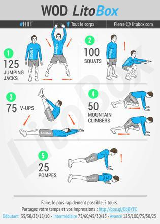 exercice cardio a la maison