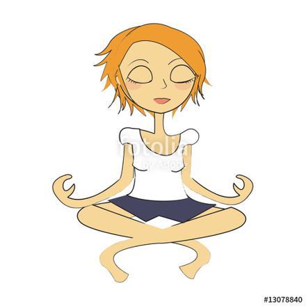 femme zen