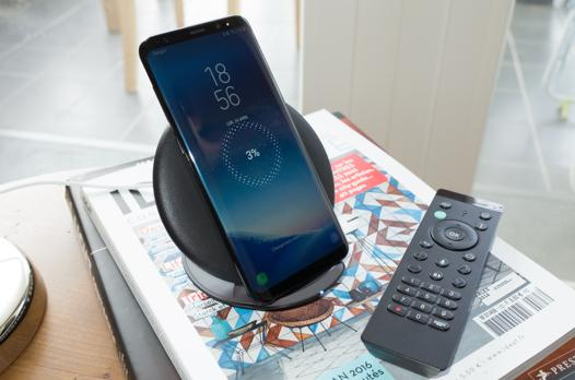 galaxy s8 chargement sans fil