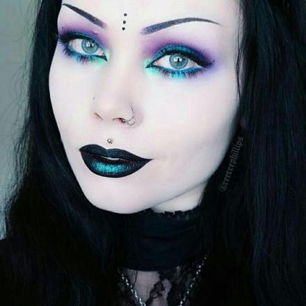 gothique maquillage