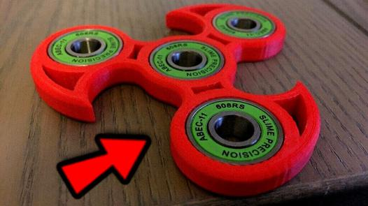 hand spinner le plus long