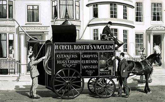 invention de l aspirateur