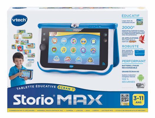 jeux tablette storio max