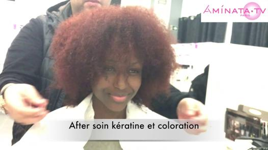 kératine cheveux afro