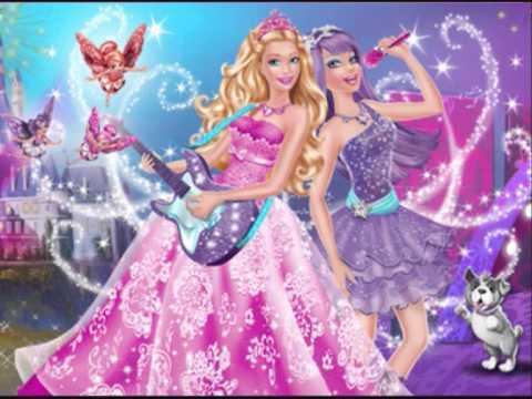 la princesse barbie