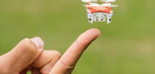 le plus petit drone