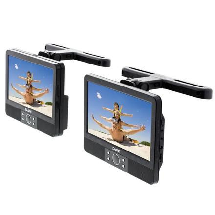 lecteur dvd portable voiture double écran