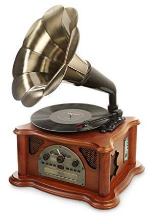 lecteur vinyle retro
