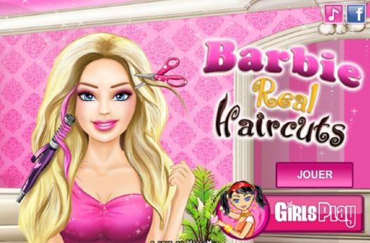 les jeux de barbie coiffure