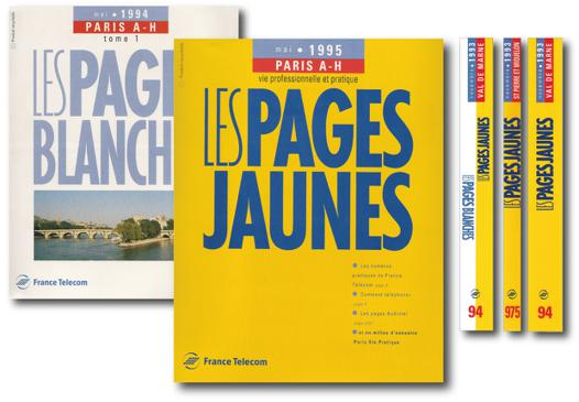 les pages blanches 40
