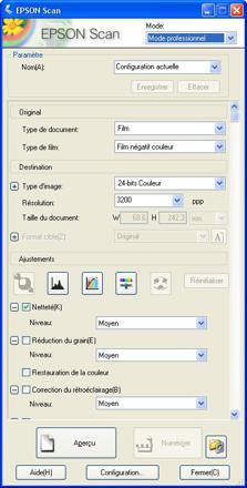 logiciel pour scanner epson