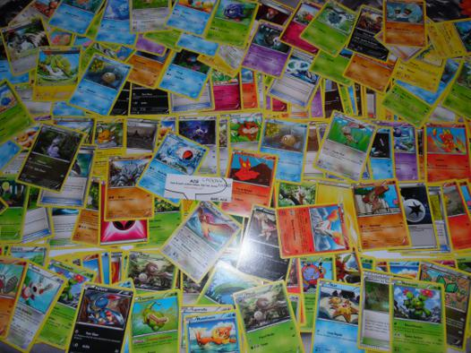 lot de cartes pokemon