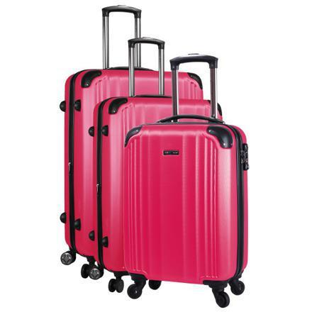 lot de valise rigide