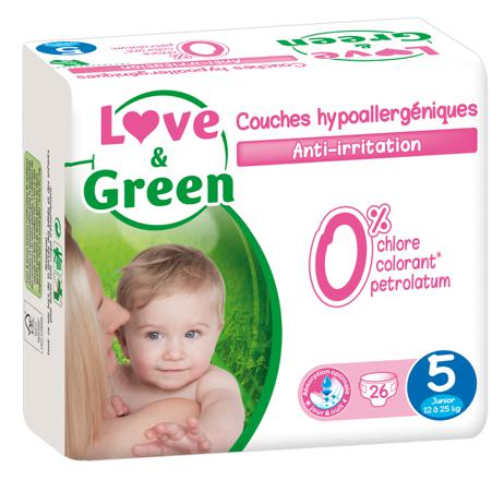 love and green taille 5