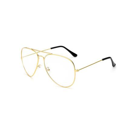 lunette aviateur verre transparent