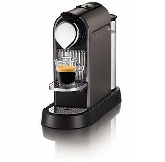 machine à café nespresso citiz