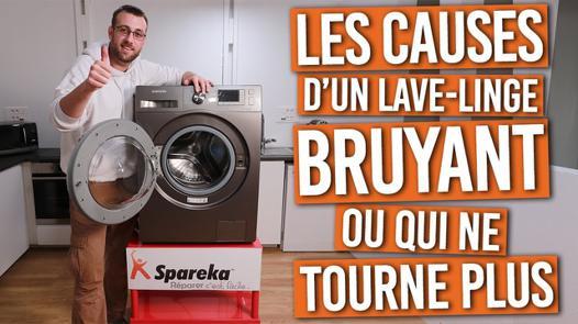 machine a laver qui ne tourne plus