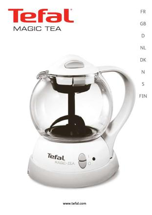machine à thé tefal
