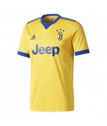 maillot foot jaune