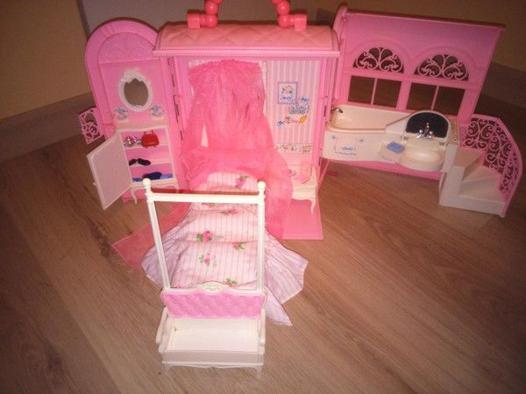 maison de barbie pliable