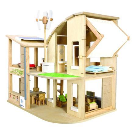 maison jouet en bois