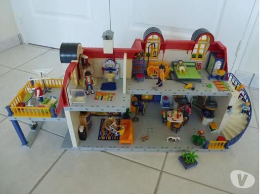 maison playmobil contemporaine