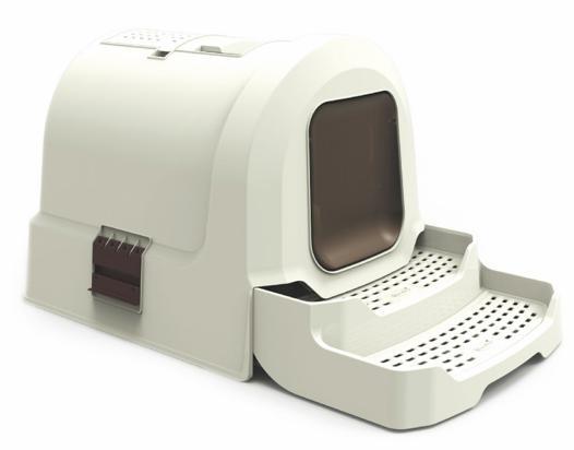 maison toilette pour chat