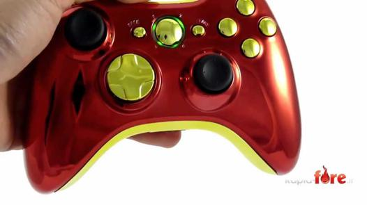 manette xbox 360 marvel iron man