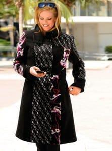manteau femme original grande taille