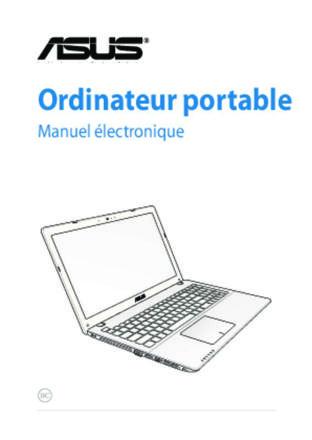 manuel d utilisation ordinateur portable asus