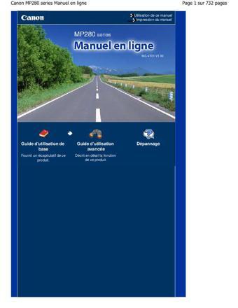 manuel en ligne canon