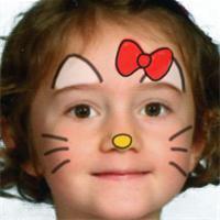 maquillage hello kitty facile