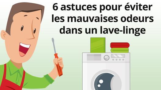 mauvaise odeur canalisation machine à laver